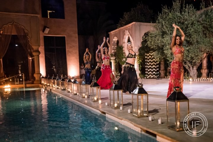 Les danseuses orientales animeront votre soirée de mariage